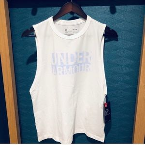 🍃🖤 New Under Armour White Heat Gear Tank